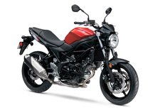 For 2017, Suzuki introduces a new version of an iconic motorcycle that embodies the sporty personality that only a lively, mid-sized V-twin roadster can deliver. The new SV650 ABS* has a polished powerplant that provides increased performance with low emissions and outstanding fuel economy, mated to refined trim and lightweight chassis that delivers a sporty, exciting ride. In addition, the SV650 ABS has a new Low RPM Assist feature that seamlessly adjusts engine speed during take-off and low-speed running to smooth the power delivery and to help eliminate the possibility of the rider stalling the motorcycle.Like its predecessors, the 2017 SV650 promises to have the sparkling performance, style and value that a broad range of riders will enjoy. Also available without ABS.